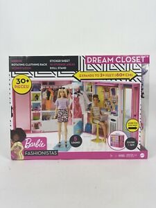 Barbie Dream Closet with 30+ Pieces Brand New Kid Toy Gift
