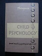 Child Psychology:  Growth Trends in Psychological Adjustment. [Hardcover]