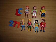 PLAYMOBIL MUJERES, FEMMES, FEMENINES, PLAYMOBIL CHICAS, FIGURAS, LOTE 271