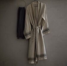 Christy Faraday Robe Linen In Small