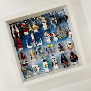 Display Frame case for Lego Star Wars Advent Calendar 2020 75279 27cm