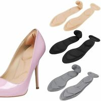 3Pair Heel Cushion Inserts for Loose Shoes Shoe Insoles,Heel Insoles Size4.5-9.5