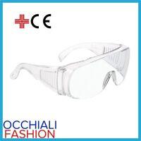 Occhiali protettivi di protezione da lavoro virus trasparenti medici protettivo