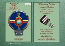 Royale Military Car Scooter Bar Badge - THE CORPS OF ROYAL MARINES  - B1.2374
