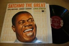Louis Armstrong and Edward R Murrow - Satchmo The Great - LP Record  VG VG