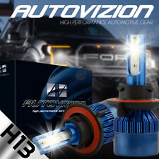 AUTOVIZION LED HID Headlight Conversion kit H13 9008 6000K 2005-2012 d Mustang