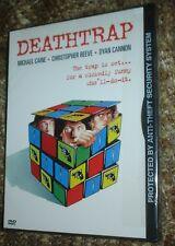 DEATHTRAP DVD, NEW & SEALED, STANDARD VERSION, REGION 1, SNAPCASE, CAINE,REEVE