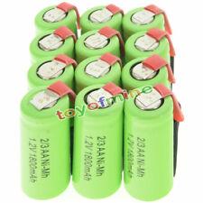 12 pz 2/3AA 1.2V 1800mAh Ni-MH ricaricabile batteria