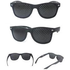 1tlg. Lochbrille Rasterbrille Nadelöhr Augentrainer Augentraining Pinhole Gläser