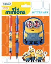 Minion Invasion - Jotter Set Mechanical Pencil Ballpoint Pen & Notepad