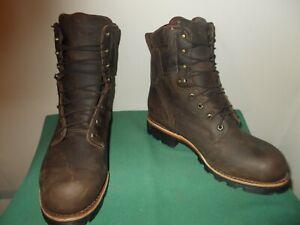 Mens 9 1/2 EEE Chippewa Boots Ryodan WP Insulated Logger  Made USA Style 29416