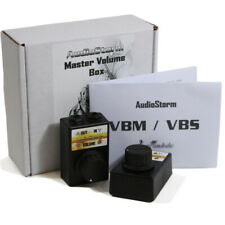 AudioStorm VBM Volume Control Effect TWIN PACK. For Guitar & Bass - British made