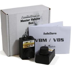 AudioStorm VBM Volume Control Effect TWIN PACK. For Guitar & Bass - British made