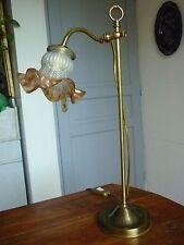 Lampe laiton col de cygne