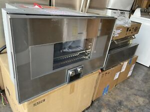 """Gaggenau 400 Series BS464610 30"""" Combi-Steam Oven Stainless Steel Perfect"""