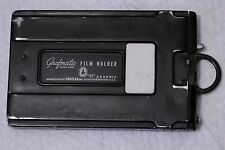 Graflex GRAFMATIC 4x5 Film Holder w/9 Septums, Good Working Order