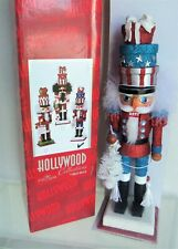 "Hollywood Collection 12"" PATRIOTIC GIFT Nutcracker by Kurt & Holly Adler MIB"