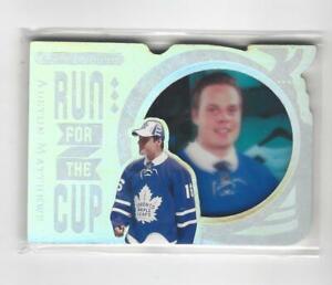 2016-17 Black Diamond Run for the Cup Auston Matthews RC Rookie Maple Leafs /99