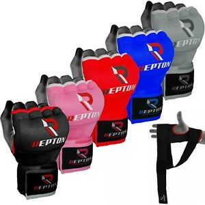 Gel Gloves Boxing Padded Inner Punch Bag Hand Quick Wraps UFC Gear MMA Protector