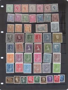 Montenegro Early Mint Collection - much unmounted