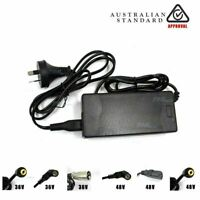 2A Charger for 36v 48V Lithium Ion Li-Ion Electric Bike Bicycle Ebike Battery