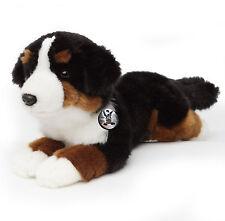 Berner Sennenhund PAULE liegend Kuscheltier 30 cm Plüschtier Plüschhund Hund