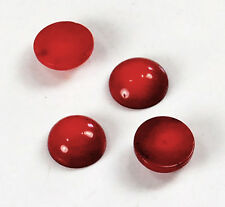 12x12x5mm Red Coral Round Cabochon Beads 4pcs(DPD99)a for DIY Jewelry