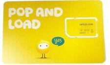 OPTUS 4GB DATA SIM 4G CARD STANDARD SIZE (EXPIRY: 2020) [OFFER Buy10 get 1free]
