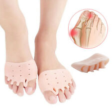 2x Orthotic Toe Straighteners Gel Silicone Separator Hammer Toe Relief Bunion