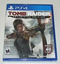 Tomb Raider Definitive for Playstation 4 Brand New! Factory Sealed!