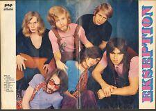 EKSEPTION POSTER 1970 PEP Sixties DUTCH Beat NEDERPOP Rick van der Linden PROG