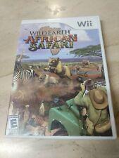 Wild Earth: African Safari (Nintendo Wii, 2008)