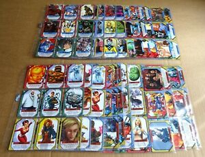 MULTI-LIST OF MARVEL RECHARGE 2001/ 2002 SLEEVES OF COMMON & RARE CCG CARDS NEW