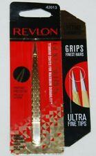 Revlon Point Tip Tweezer Gold Series Titanium Coated 42013 NEW