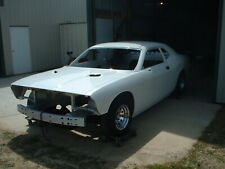 2012 Dodge Challenger Complete Body in Pearl White Rolling Chassis From Factory