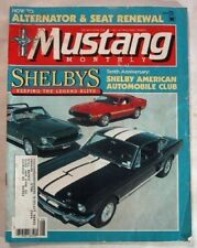 MUSTANG MONTHLY 1985 AUG - GT's, TWISTERS, TRI-POWER