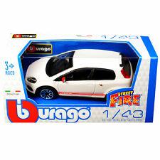 BBURAGO Street Fire Fiat Abarth Grande Punto / Scale 1:43 / Burago / NEW - Boxed