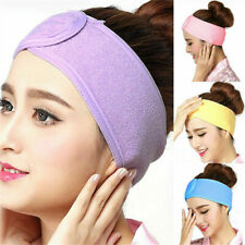 Women Spa Bath Shower Wash Face Elastic Head Cosmetic Headband Make Up Hair Band