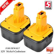 2X 12V Ni-CD Battery For Dewalt DE9074 DE9075 152250-27 397745-01 DC9071 DW927K2