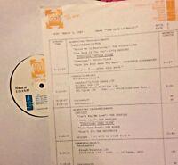 RADIO SHOW:MARCH GOLD 3/3/87 BYRDS, PETULA CLARK,CSN&Y,SIMON & GARFUNKEL,BEATLES