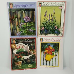 Susan Scheewe Floral Lot of 4 Decorative Painting Patterns