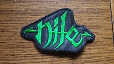 NILE,SEW ON GREEN EMBROIDERED PATCH