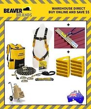 Beaver Tradies Roofers Safety Kit + Roof Anchor + 10 x Roof Handles BK061215TRAD