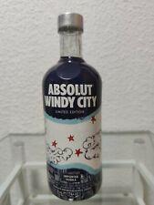 Absolut vodka Windy City 750ml sealed
