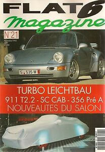 FLAT 6 21 PORSCHE 964 TURBO S LEICHTBAU 356 PRE A 51 911 SPEEDSTER & CABRIOLET