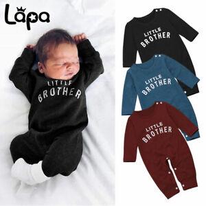 Lapa Neugeborene Jungen Langarm Strampler Overall Schlafanzug Kleidung Outfits