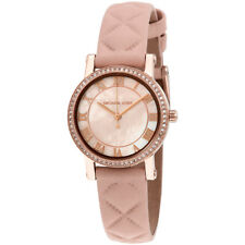 Michael Kors Petite Norie Mother of Pearl Dial Ladies Watch MK2683