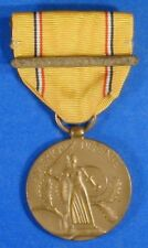 UNITED STATES AMERICAN DEFENSE SERVICE MEDAL WITH FOREIGN SERVICE BAR      R8389
