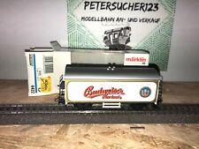Märklin H0 4422 Gedeckter Güterwagen Budweiser   in OVP GW234 O1019