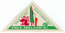 "(I.B) Ireland Political : ""One Flag, One Country"" (Tricolour)"